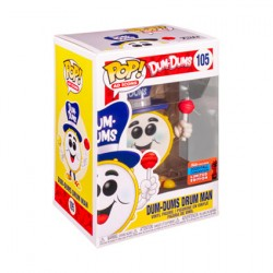 Figur Pop NYCC 2020 Dum-Dums Drum Man Limited Edition Funko Geneva Store Switzerland