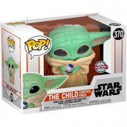 Figur Pop Star Wars Mandalorian The Child (Baby Yoda) with Control Knob Limited Edition Funko Geneva Store Switzerland