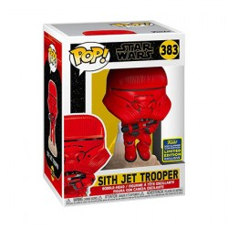 Figurine Pop SDCC 2020 Star Wars Sith Jet Trooper Edition Limitée Funko Boutique Geneve Suisse