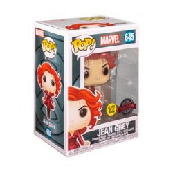 Figurine Pop Phosphorescent Marvel Jean Grey Edition Limitée Funko Boutique Geneve Suisse