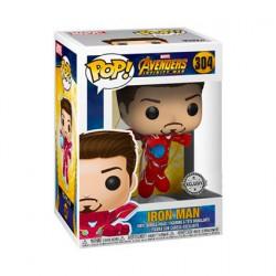 Figurine Pop Marvel Avengers Infinity War Iron Man sans Masque Edition Limitée Funko Boutique Geneve Suisse