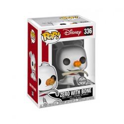 Figurine Pop Disney L'Étrange Noël de Monsieur Jack Zero avec Os Edition Limitée Funko Boutique Geneve Suisse