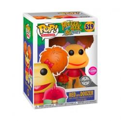 Figuren Pop Flockierte Fraggle Rock Red mit Doozer Limitierte Auflage Funko Genf Shop Schweiz