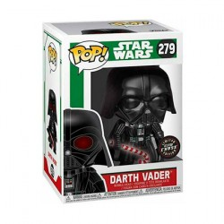 Figurine Pop Phosphorescent Star Wars Holiday Darth Vader Chase Edition Limitée Funko Boutique Geneve Suisse