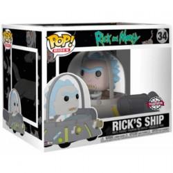 Figur Pop Rides Rick and Morty Space Cruiser Limited Edition Funko Geneva Store Switzerland