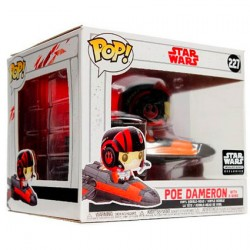 Figurine Pop Rides Star Wars Poe Dameron avec X-Wing Edition Limitée Funko Boutique Geneve Suisse