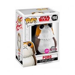 Figurine Pop Floqué Star Wars Porg Edition Limitée Funko Boutique Geneve Suisse