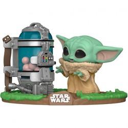 Figurine Pop Deluxe Star Wars The Mandalorian Child avec Boîte à Œufs Funko Boutique Geneve Suisse