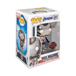 Figurine Pop Avengers 4 Endgame War Machine in Team Suit Edition Limitée Funko Boutique Geneve Suisse