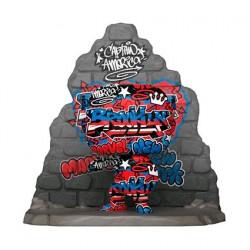 Figur Pop Deluxe Captain America Grafitti Deco Limited Edition Funko Geneva Store Switzerland