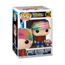 Figurine Pop Métallique Retour vers le Future Marty Edition Limitée Funko Boutique Geneve Suisse