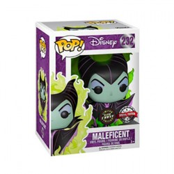 Figurine Pop Phosphorescent Disney Maleficent Green Flame Chase Edition Limitée Funko Boutique Geneve Suisse