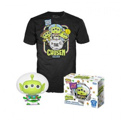 Figurine Pop Phosphorescent et T-shirt Toy Story Alien en Buzz Edition Limitée Funko Boutique Geneve Suisse