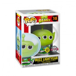 Figur Pop Glow in the Dark Toy Story Alien Remix Buzz Lightyear Limited Edition Funko Geneva Store Switzerland