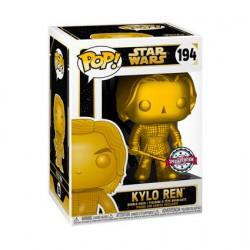 Figurine Pop Métallique Star Wars Kylo Ren Gold Edition Limitée Funko Boutique Geneve Suisse