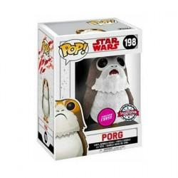 Figurine Pop Floqué Star Wars Porg Chase Edition Limitée Funko Boutique Geneve Suisse