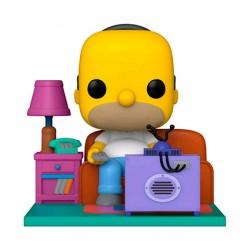 Figurine Pop Deluxe The Simpsons Homer watching TV Funko Boutique Geneve Suisse