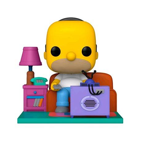 Figur Pop Deluxe The Simpsons Homer watching TV Funko Geneva Store Switzerland