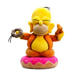 Figuren Simpsons Plüsch Homer Buddha Kidrobot Genf Shop Schweiz
