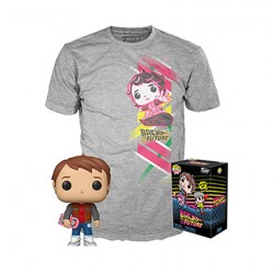 Figur Pop and T-shirt Back to the Future Marty with Hoverboard Limited Edition Edition Funko Geneva Store Switzerland
