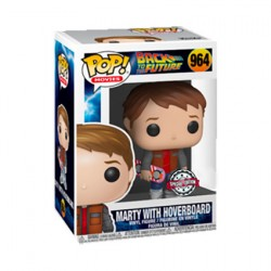 Figur Pop Back to the Future Marty with Hoverboard Limited Edition Funko Geneva Store Switzerland