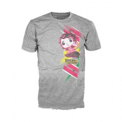 Figur T-Shirt Back to the Future Marty with Hoverboard Funko Geneva Store Switzerland
