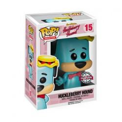 Figuren Pop Flockierte Hanna Barbera Huckleberry Hound Limitierte Auflage Funko Genf Shop Schweiz