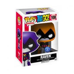 Figurine Pop Teen Titans Go Raven Orange Edition Limitée Funko Boutique Geneve Suisse