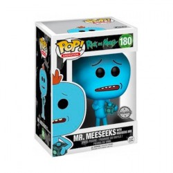 Figur Pop Cartoons Rick et Morty Meeseeks With Meeseeks Box Limited Edition Funko Geneva Store Switzerland