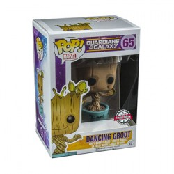 Figurine Pop Marvel Les Gardiens de la Galaxie Dancing Groot I am Groot Edition Limitée Funko Boutique Geneve Suisse