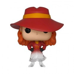 Figuren Pop TV Carmen Sandiego Durchscheinend Limitierte Auflage Funko Genf Shop Schweiz