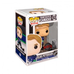 Figurine Pop NHL Canucks Elias Pettersson (Home) Édition Limitée Funko Boutique Geneve Suisse
