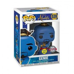 Figurine Pop Movie Aladdin Genie Phosphorescent Edition Limitée Funko Boutique Geneve Suisse