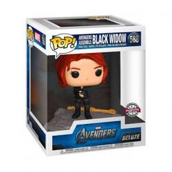 Figurine Pop Marvel Avengers Black Widow Assemble Edition Limitée Funko Boutique Geneve Suisse