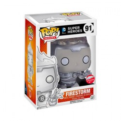Figurine Pop DC White Lantern Firestorm Edition Limitée Funko Boutique Geneve Suisse