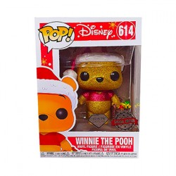 Figurine Pop Diamond Disney Holiday Winnie l'Ourson Glitter Edition Limitée Funko Boutique Geneve Suisse