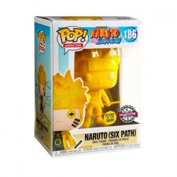 Figur Pop Glow in the Dark Naruto Shippuden Naruto Six Path Yellow Limited Edition Funko Geneva Store Switzerland