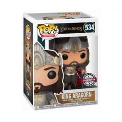 Figurine Pop Le Seigneur des Anneaux King Aragorn Edition Limitée Funko Boutique Geneve Suisse
