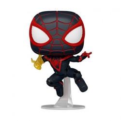 Figurine Pop Spider-Man Miles Morales Classic Suit Funko Boutique Geneve Suisse