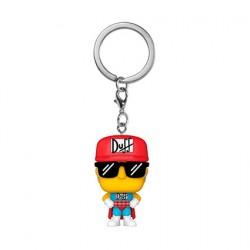 Pop Pocket Porte-clés The Simpsons Homer U.S.A.