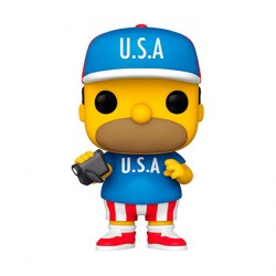 Figurine Pop The Simpsons Homer U.S.A. Funko Boutique Geneve Suisse