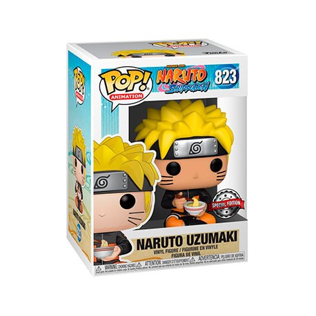 Figur Pop Naruto with Noodles Limited Edition Funko Geneva Store Switzerland