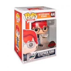 Figur Pop Stephen King with Axe and Book Limited Edition Funko Geneva Store Switzerland