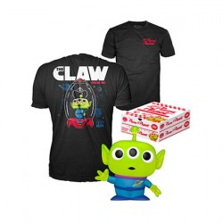 Figur Pop Glitter and T-Shirt Toy Story Alien Limited Edition Funko Geneva Store Switzerland