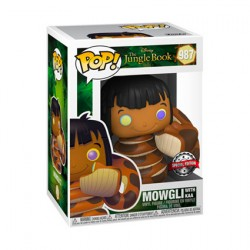 Figuren Pop Disney The Jungle Book Mowgli mit Kaa Limitierte Auflage Funko Genf Shop Schweiz