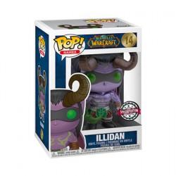 Figurine Pop Métallique World of Warcraft Illidan Blizzard 30th Anniversary Edition Limitée Funko Boutique Geneve Suisse