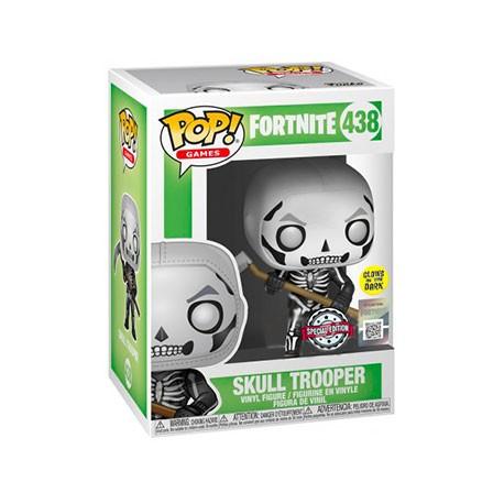 Figurine Pop Phosphorescent Fortnite Skull Trooper Edition Limitée Funko Boutique Geneve Suisse