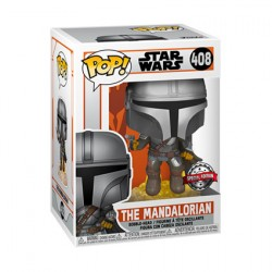 Pop Star Wars The Mandalorian with JetpackLimited Edition