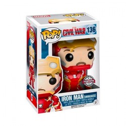 Figuren Pop Marvel Iron Man Unmasked Limitierte Auflage Funko Genf Shop Schweiz