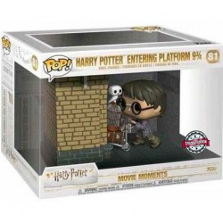 Figurine Pop Movie Moments Harry Potter Entering Platform 9 3/4 Edition Limitée Funko Boutique Geneve Suisse